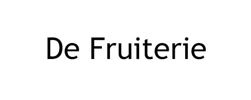 De Fruiterie